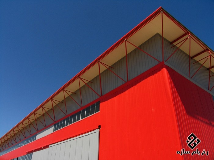Hall of Sandwich Panels Factory